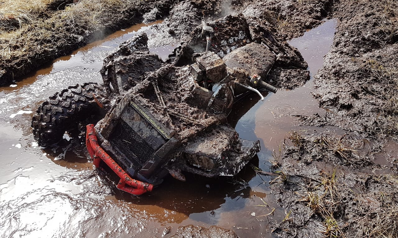 16 Steps to Repair an ATV Submerged in Mud or Water