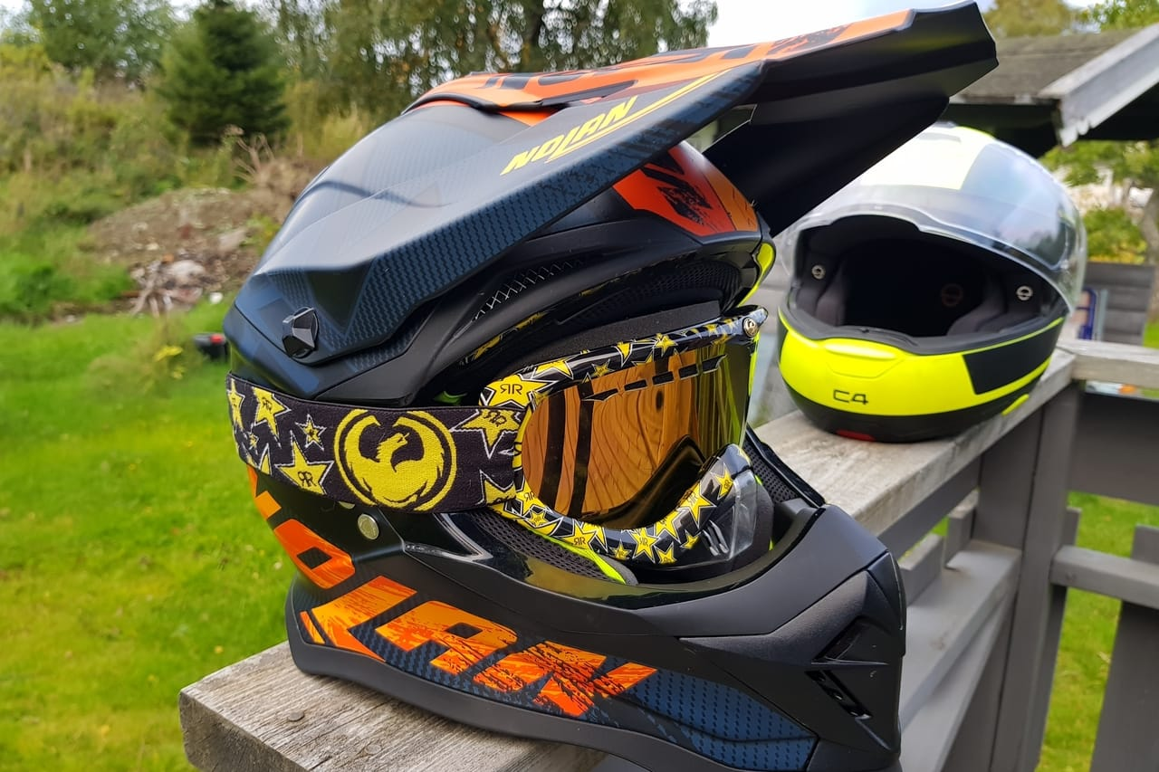 The difference between an ATV helmet and a motorcycle helmet