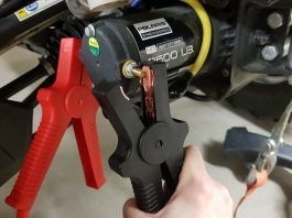 ATV winch starter cable test