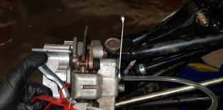 reverse bleed atv brakes