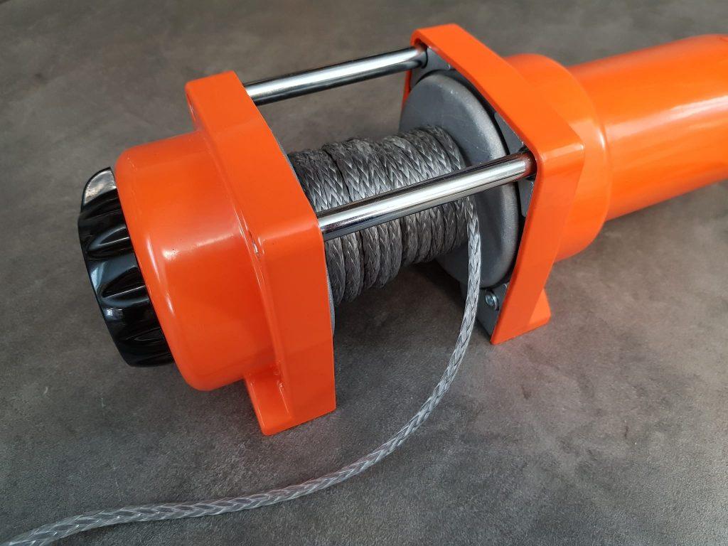 ATV winch rope winch drum pullong capacity