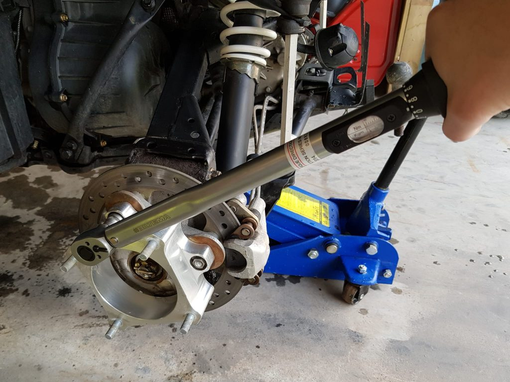 install atv spacer torque wrench