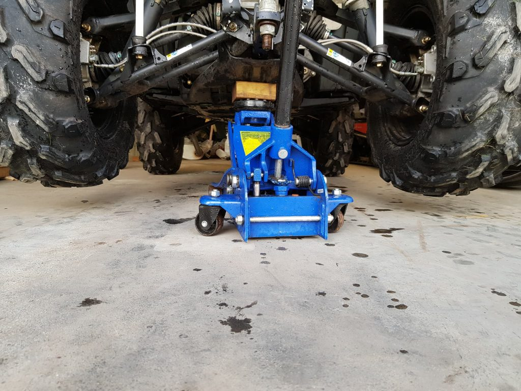 lift atv floor jack frame