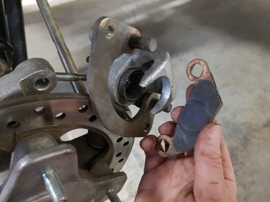 atv brakes wont build pressure