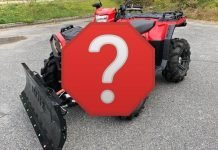 what is the best atv for plowing snow