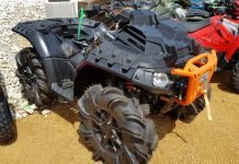 atv mud tire weight
