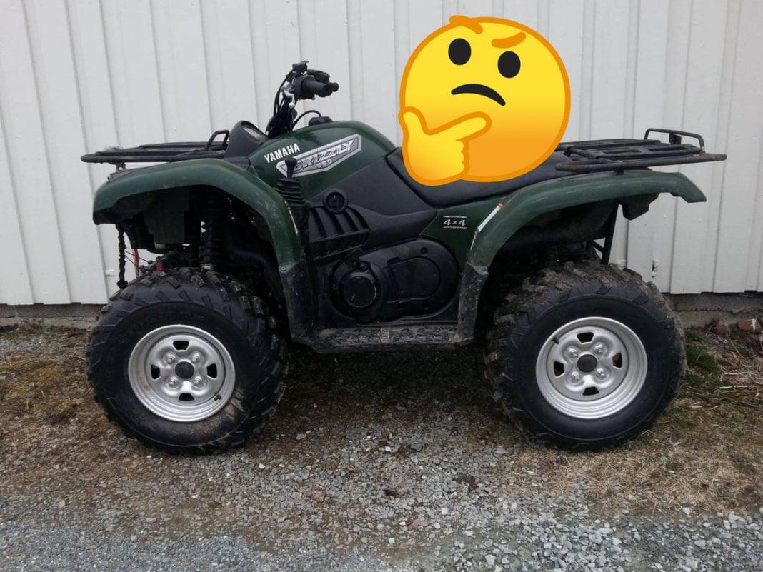 ATV wont stay running