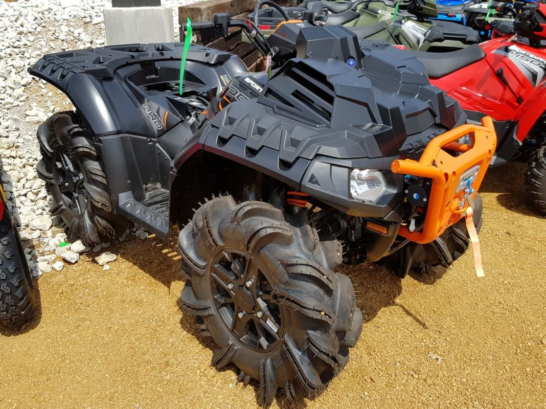 will bigger tires make an ATV faster