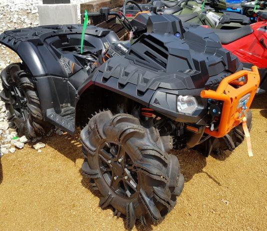 will bigger tires make an ATV faster