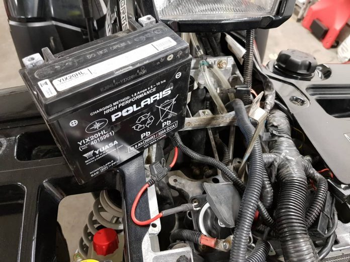 how to remove ATV battery