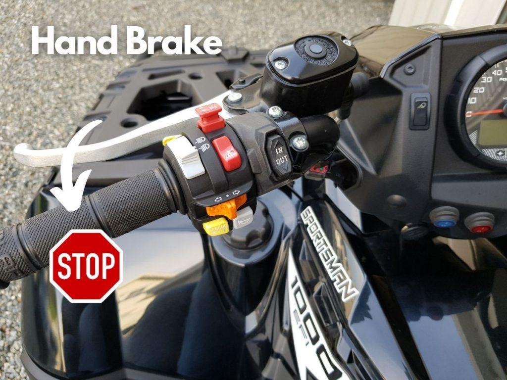 ATV Hand Brake