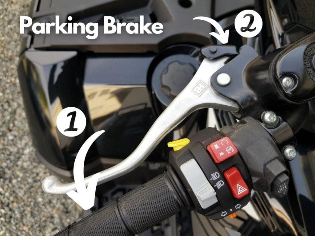 ATV Parking Brake